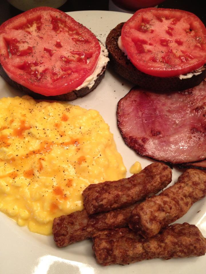 Tomato Toast Brunch - Eat-in With YiaYia