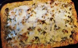 Deep Dish Spaghetti Squash Pizza Casserole - Eat-in WIth YiaYia