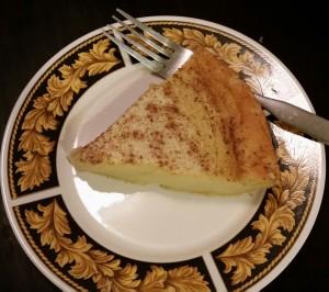 GF Magic Crust Custard Pie - Eat-in With YiaYia