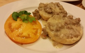 Old Fashioned Sausage Gravy & Biscuits - Eat-in With YiaYia