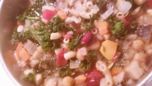 Autumn Minestrone - Eat-in With YiaYia