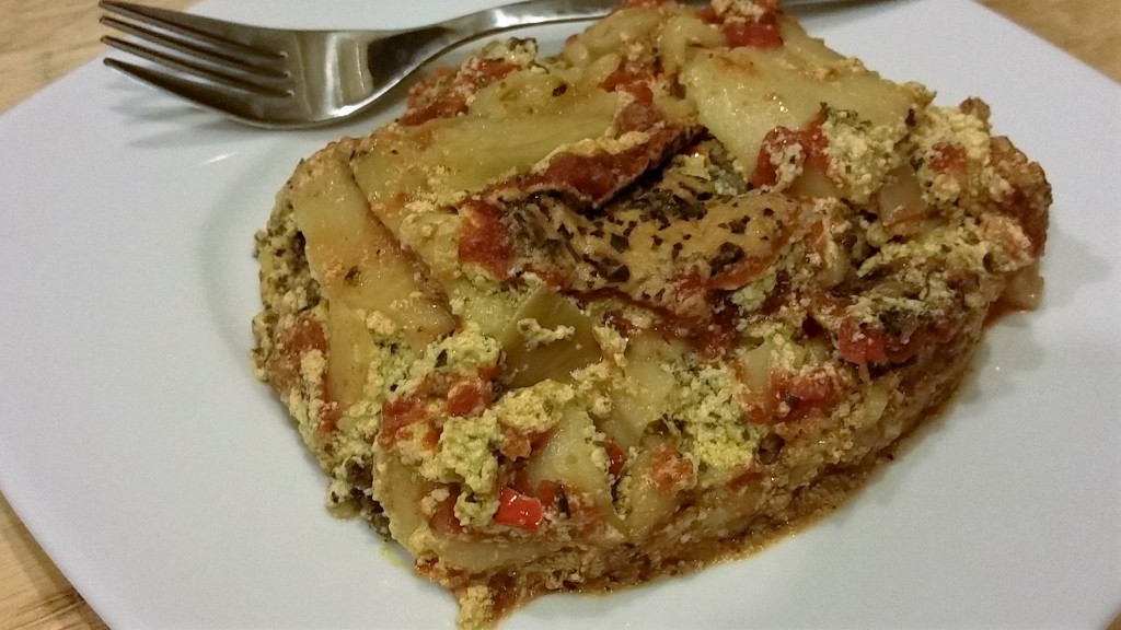 Vegan Lasagna - Eat-in With YiaYia