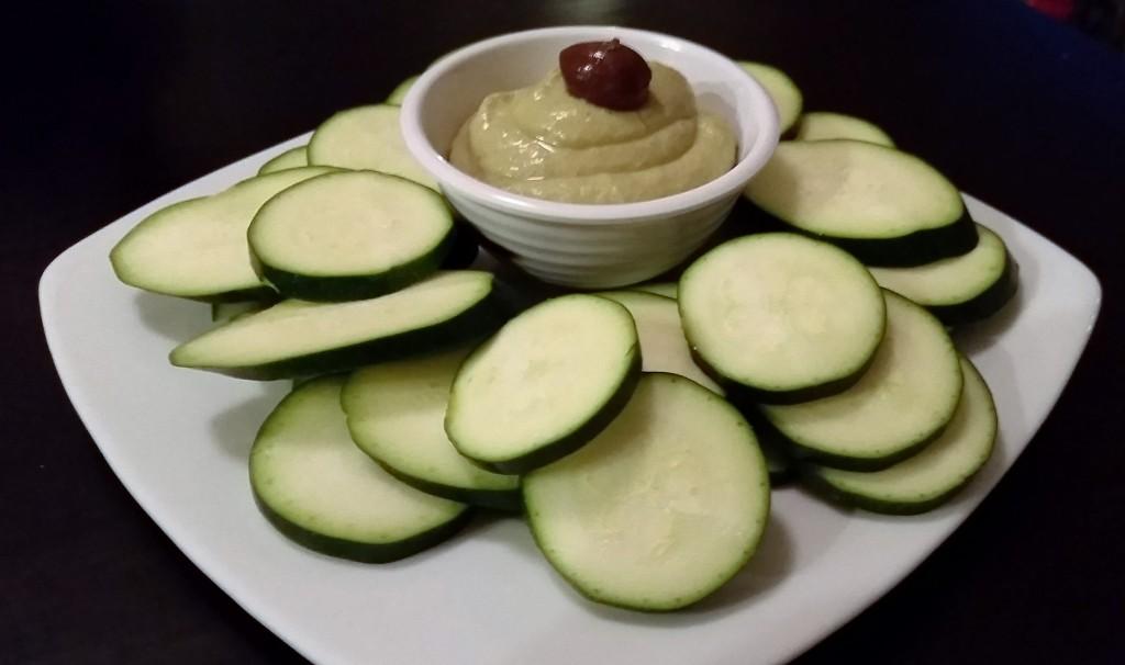 Green Bean Hummus - EatinWithYiayYia.com