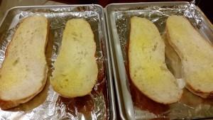 Beet Pesto & Goat Cheese Batard - EatinWithYiayYia.com