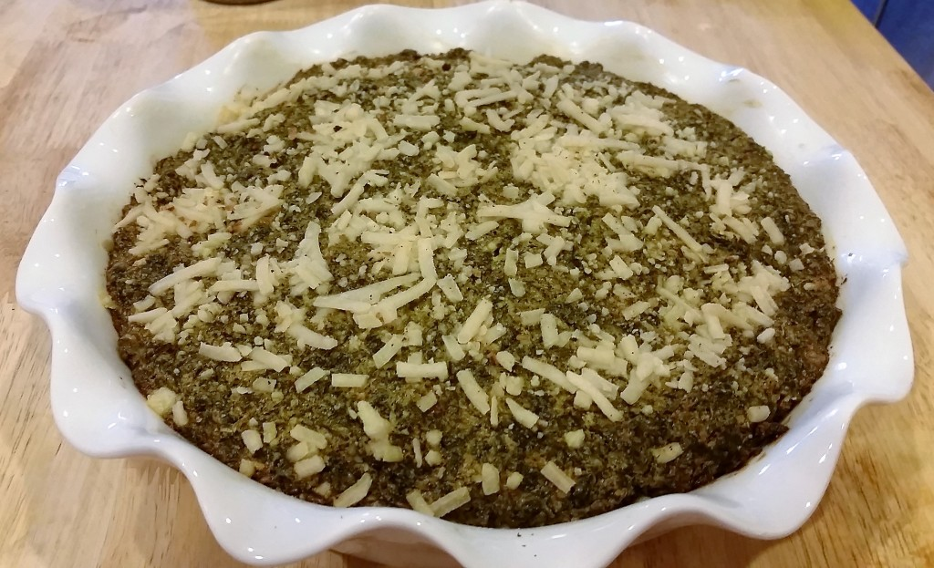 Potato Kale Pie - EatinWithYiayYia.com
