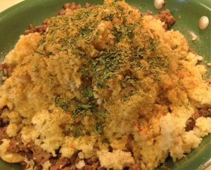 Low Fat, Starch Free Dirty Rice - EatinWithYiaYia.com