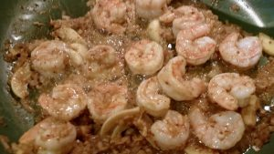 Spicy Mustard Shrimp - EatinWithYiaYia.com