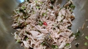 Sun-dried Tomato & Rosemary Chicken Salad - EatinWithYiaYia.com